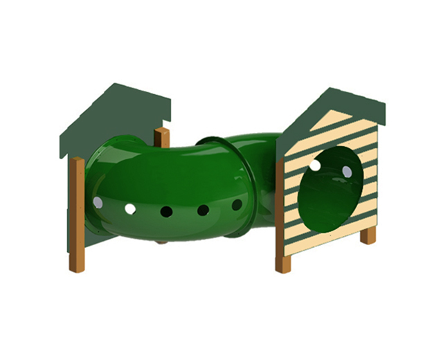 Recycled Curved Tunnel W/Dog House Image