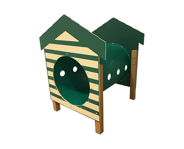 Recycled Crawl Tunnel W/Dog House Image