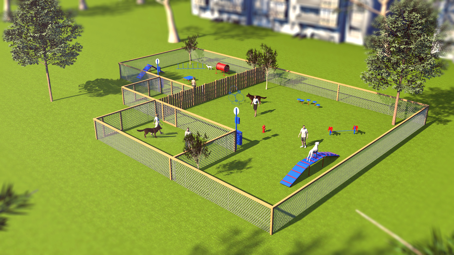 Overall image of BarkPark's Combination Course
