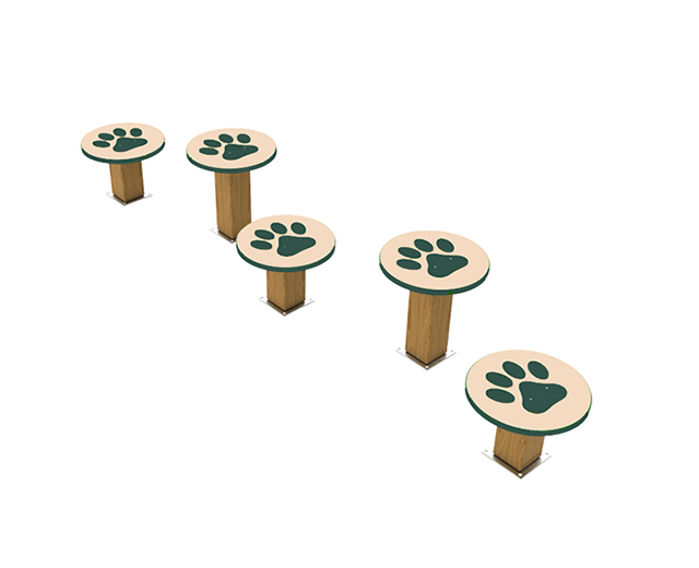 Recycled Stepping Paws Image