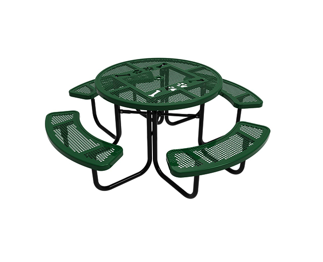 Green Chow Hound Table