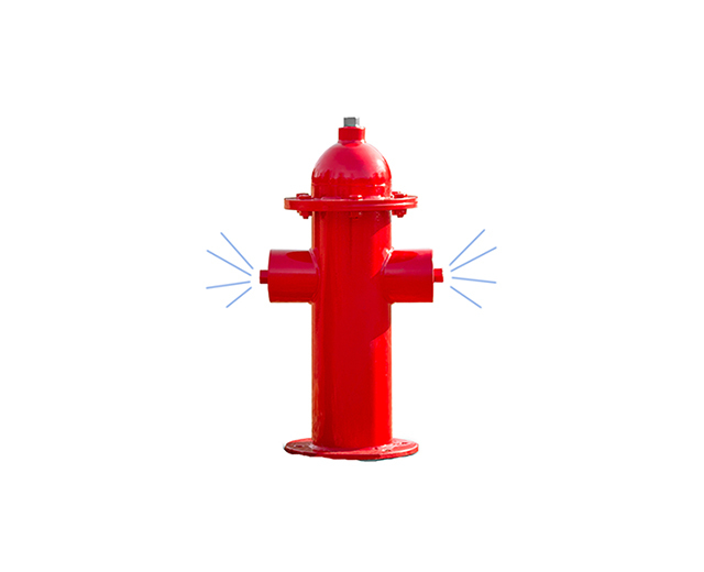 Misting Fire Hydrant Image